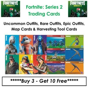 Fortnite - Series 2 - Trading Cards (2021): Base #01 - #170, Map & H Tool Cards