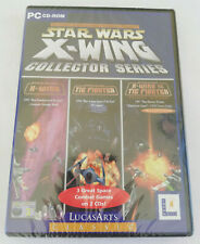 STAR WARS X-WING COLLECTOR SERIES PC CD-ROM GAME (3 GAMES ON 2 DISCS) - NEW