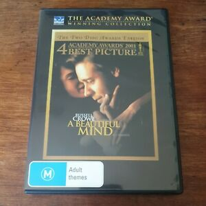 A Beautiful Mind Academy Award Collection DVD R4 Like New! FREE POST