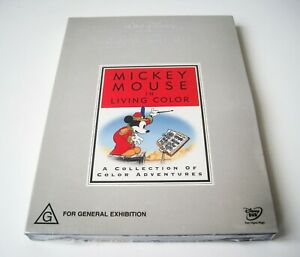 DISNEY TREASURES - MICKEY MOUSE IN LIVING COLOUR VOL 1 - DVD   LIKE NEW & SEALED