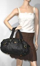 Marc By Marc Jacobs Totally Turnlock Heidi Satchel Large Bowler Black Bag