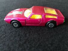 "Matchbox ""Superfast"" Maserati Bora, #32, Magenta Color"