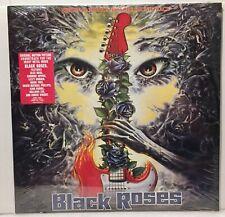 BLACK ROSES Soundtrack Vinyl LP Record 1988 Metal Blade SEALED MINT Hype Sticker