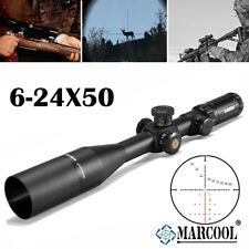 MARCOOL Optics Tactical Rifle Scope EVV 6-24X50 SFIRGL FFP For Hunting Shooting