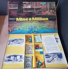 Waddingtons Mine A Million Board Game 99% Complete  1965