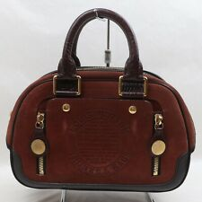 Louis Vuitton Hand Bag M95238 Stamp Bag Browns Suede Leather 1806756