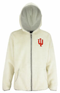 Outerstuff NCAA Women's Indiana Hoosiers Time Honoured Teddy Fleece Jacket