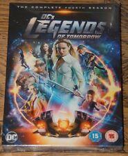 DC'S LEGENDS OF TOMORROW SERIES SEASON FOUR FOURTH 4 GENUINE UK R2 DVD FAST POST