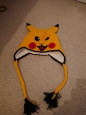 CP46 Red Color Caps Costume Pikachu Beanie Hat For Baby
