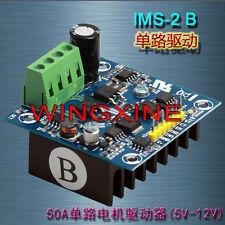 50A H-bridge Single Motor Driver Forward Reversion Brake For Smart Car Arduino