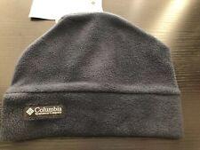 Youth Columbia Fleece Beanie Hat Cap Columbia Navy S/M