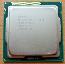 Intel Core i7-2600 SR00B  3.4GHz Quad Core (8 Thread) CPU LGA1155