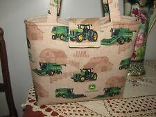 John Deere Green - 3pc Quality handbag set, made in Ohio, Usa
