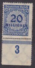Alemania 1923 - 20 millones-Azul-Estampillada sin montar (C18A)