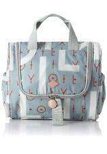 7a67c86baf8d4 Oilily Groovy Letters Washbag Women s Bag Organiser Light Blue