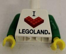 Lego® Torso Oberkörper Legoland neu new unbespielt Minifig