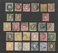 Portugal 1853 - 1884 collection, 27 stamps