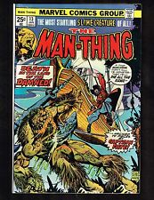 The Man-Thing #13 ~ Captain Fate ~ (7.5) Wh