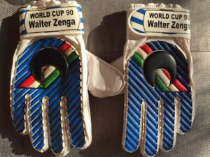 TORWARTHANDSCHUHE, VINTAGE, GLOVES, GUANTI,GOALKEEPER,RETRO WM 90 ZENGA