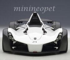 AUTOart 18111 BAC MONO 1/18 DIECAST MODEL CAR METALLIC WHITE