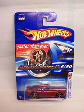 Hot Wheels - 2005 First Edition - 2005 Ford Mustang GT - #6/20 Faster Then Ever