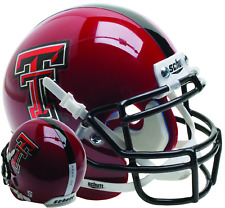 TEXAS TECH RED RAIDERS NCAA Schutt XP Authentic MINI Football Helmet