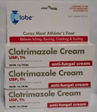 Clotrimazole 1% Anti-Fungal Cream (Compare to Lotrimin AF) 1oz Tube -3 Pack
