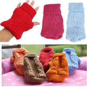 XXXXS/XXXS/XS Teacup Dog Knit Jumper Puppy Kitten Sweater for Chihuahua Yorkie