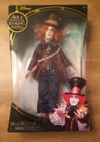 ALICE IN WONDERLAND ALICE THROUGH THE LOOKING GLASS MAD HATTER COLLECTOR DOLL