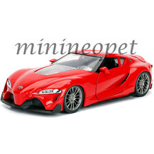 JADA 98416 JDM TUNERS TOYOTA FT-1 CONCEPT 1/24 DIECAST MODEL CAR RED