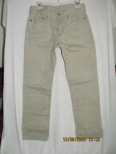 Levis 514 Mens Size 30 x 30 Straight Fit Tan Jeans