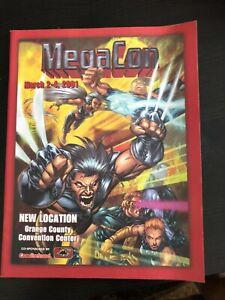 Orlando Florida Comic Convention MEGACON 2001 program
