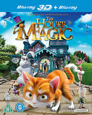 THE HOUSE OF MAGIC (3D & 2D BLU-RAY) (New)