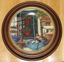 "Collectable Cat Plate Knowles ""Lazy Morning"""