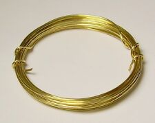 26 Ga Solid Red Brass Soft Round Wire 1 Oz. 90 Ft Coil Jewelers Brass