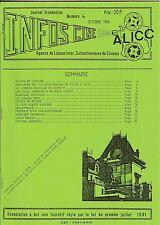 INFOS-CINÉ n°4 (Oct.1988) Revue collectionneurs de films