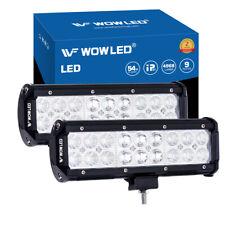 WOW - 2 X 54W LED Work Lamp Light Flood Spot Beam Reverse Car Truck Lamp 4x4