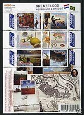 Nederland NVPH 2658-63b Vel Grenzeloos Nederland Brazilie 2009 Postfris