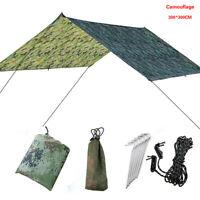 Outdoor Camping Tent Hammock Tarp Rain Fly Cover Waterproof Shelter Lightweight