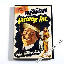 Larceny Inc. DVD New Edward G. Robinson, Jane Wyman, Broderick Crawford