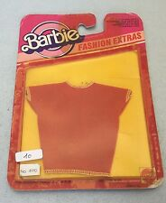 VINTAGE #70s BARBIE FASHION EXTRAS OUTFIT TEES SHIRT#MOSC RARE