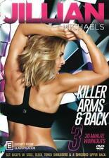 Jillian Michaels: Killer Arms & Back  - DVD - NEW Region 4