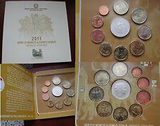 REPUBBLICA ITALIANA DELL'ISTITUTO POLIGRAFICO ZECCA SERIE MONETE EURO ANNO 2011