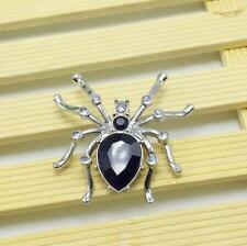 Pretty New Fashion Spider Stretchy ring Crystal rhinestone Rings Jewelry