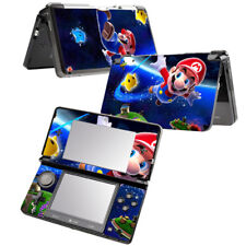 For Nintendo 3DS Super Mario Screen Protective Stickers Vinyl Skin Decal