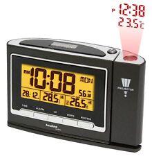 projection heure Radio-thermomètre TEMPÉRATURE EXTÉRIEURE WT 529 Réveil DCF-77