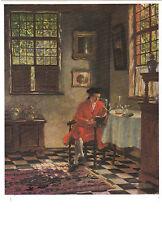 Kunstkarte / Postcard Art - Hugo Krings: Besinnliche Stunde