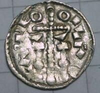 RARE!! Crusader Templar cross, Europe, Laszlo I - Ladislaus I (1077-1095) denar