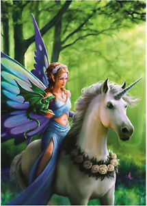 Anne Stokes - Realm Of Enchantment - 1500 piece jigsaw puzzle