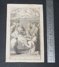 CHROMO 1903 IMAGE PIEUSE CATHOLICISME HOLY CARD DECES SOPHIE-CONSTANCE CROMBEZ